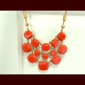 Chunky orange Stella & Dot necklace